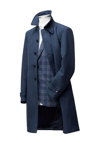 Colbert met overjas voor begrafenis ondernemer uitvaart kleding
