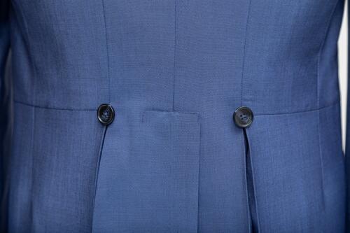 Op maat gemaakt jacquet uitvaartkleding
