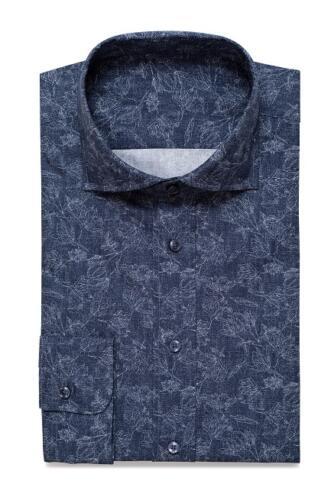 Overhemd op maat blauw