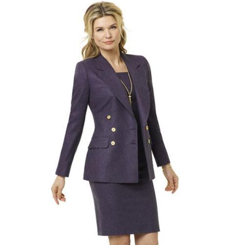 Stijlvol vrouwelijke jurk met colbert voor dames uitvaart begeleiders (1)