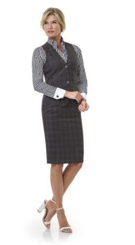 Zakelijke-dames-kleding-met-gilet-op-maat-gemaakt-van-Holland-and-Sherry-stof
