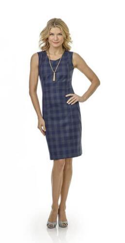 Zakelijke-jurk-blauw-op-maat-gemaakt