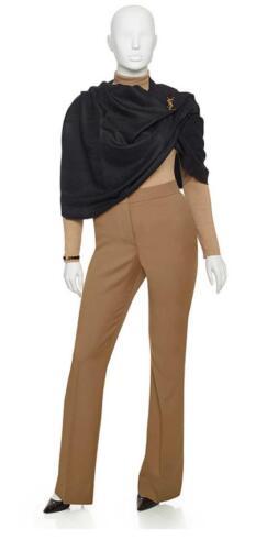 Kleding zakenvrouw, stijlvolle pantalon